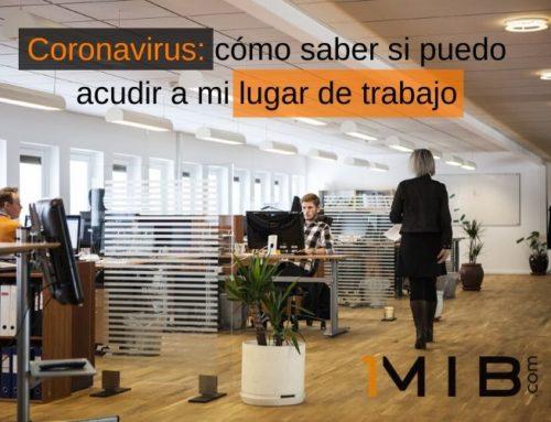 Coronavirus: cómo saber si puedo volver a mi lugar de trabajo