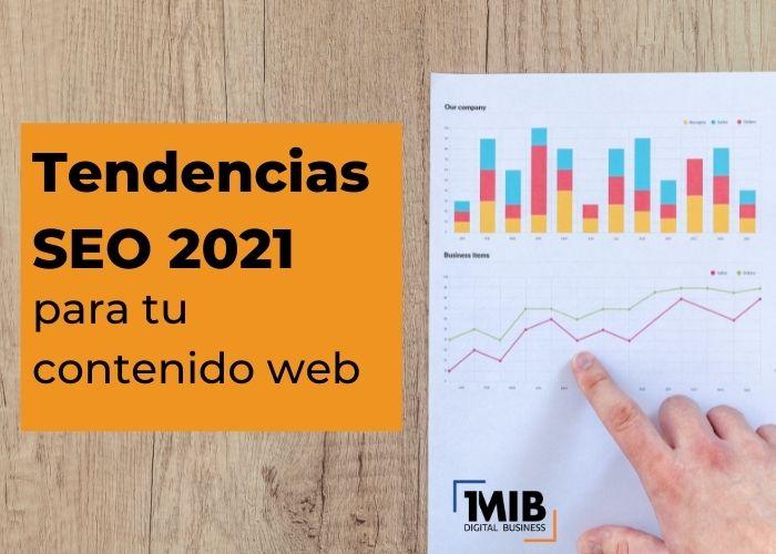 Tendencias SEO 2021 para tu contenido web